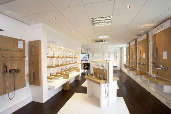 Thiết kế nội thất showroom trưng bày (Ảnh: Internet)